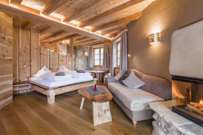Wellnesssuiten Badehaus 50m² im Hotel Lüsnerhof in der Ferienregion Eisacktal in Südtirol