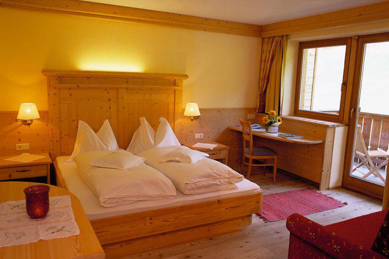 Naturzimmer Lavendel 24m² im Naturhotel Lüsnerhof in Südtirol
