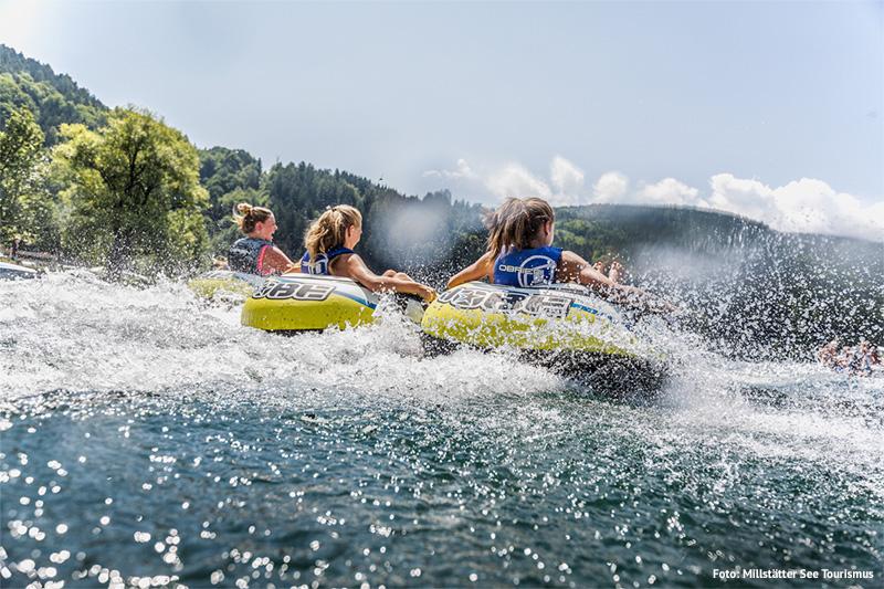 Wassersport am Millstätter See