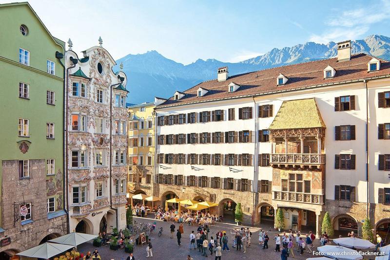 Ausflugsziel Goldenes Dachl in Innsbruck