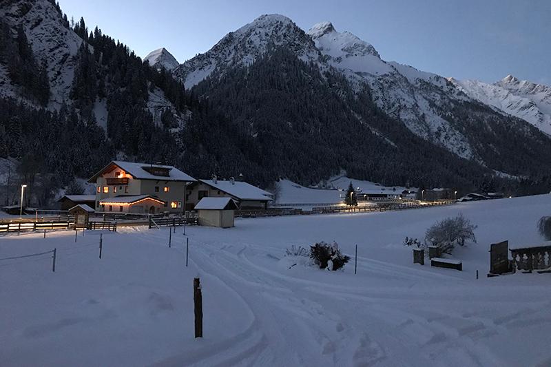 Alfaierhof-Gschnitztal-Winterurlaub