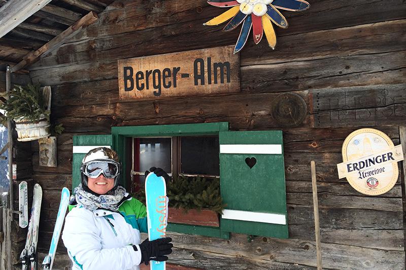 Skiausflug zur Bergeralm
