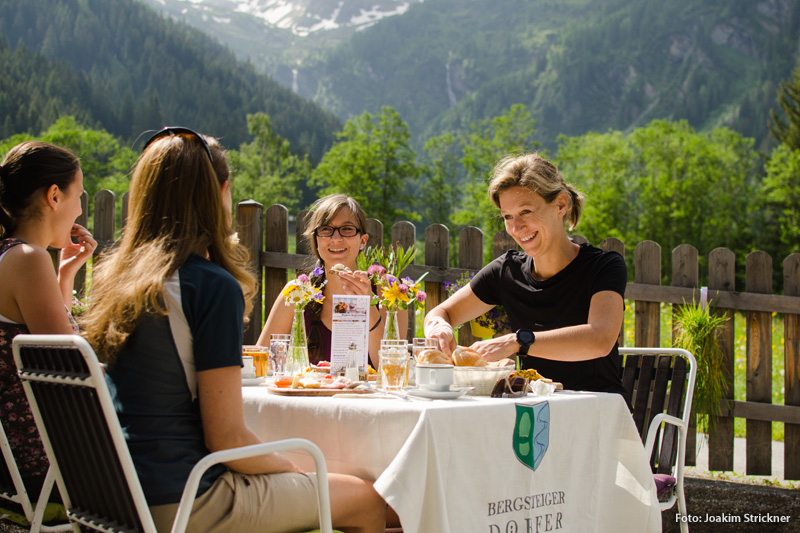 Der Alfaierhof ist Mitglied der Initiative Wipptaler Bergfrühstück