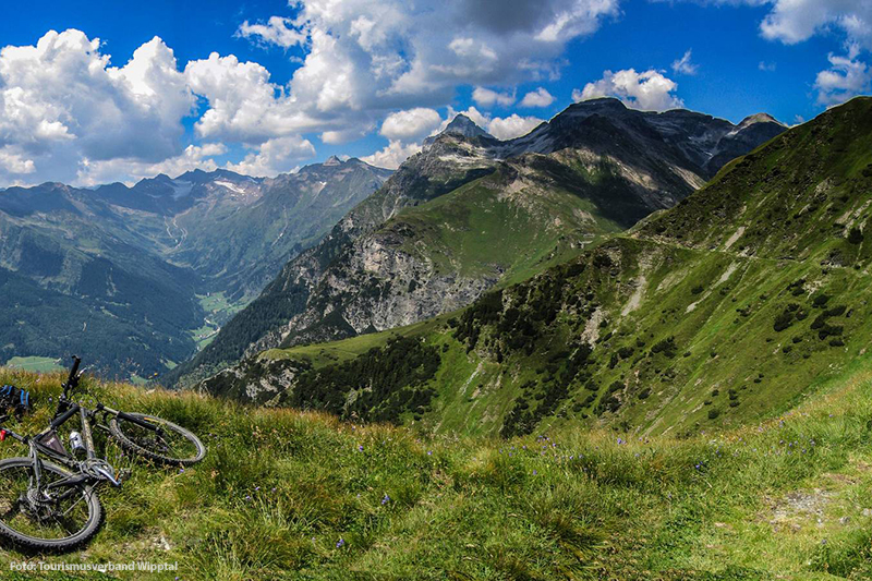 Mountainbike- und Radwegenetz zwischen Innsbruck und dem Brenner