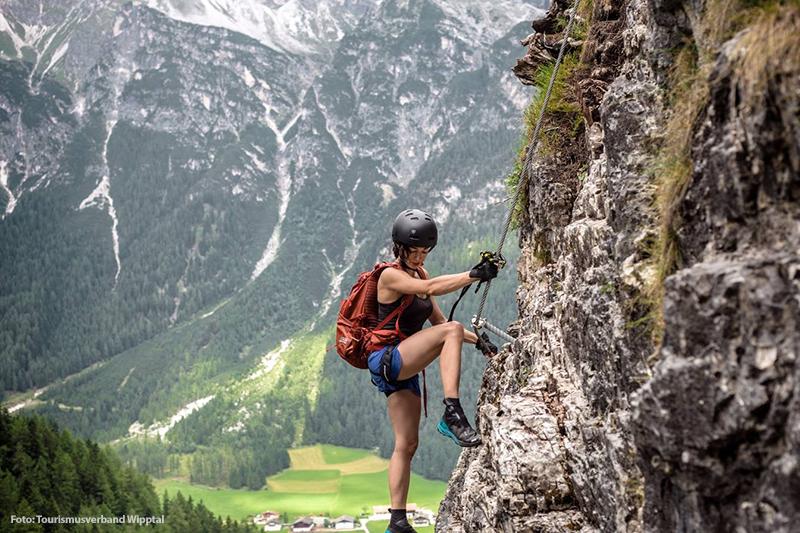 Ein Kletterurlaub im Tiroler Wipptal