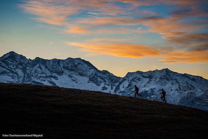 Ferienregion Wipptal ist ein beliebtes Trailrunning Gebiet