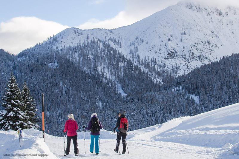 Die winterlichen Naturlandschaften in der Ferienregion Wipptal