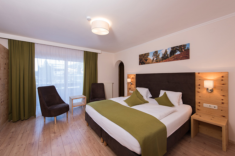 Doppelzimmer Zirbe-Birke ca. 23 m²