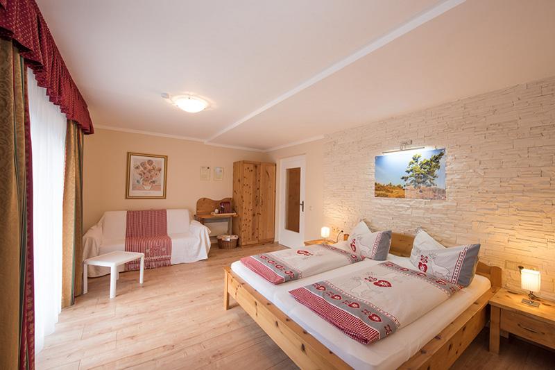 Familienzimmer Nochalm-Zirbe ca. 27 m²