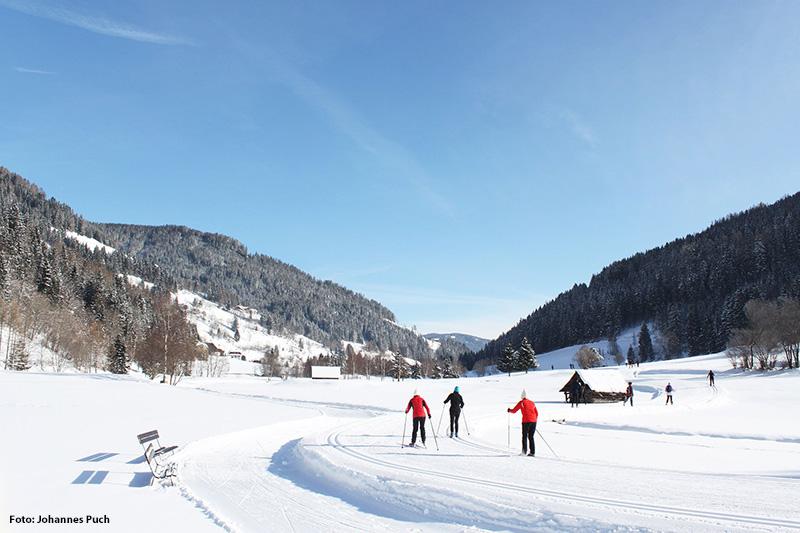 Langlauf in Bad Kleinkirchheim