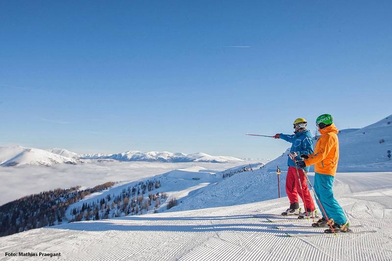 Winter Zeit ist Ski Zeit