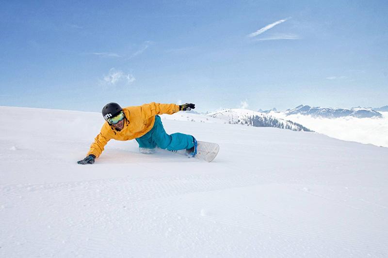 Snowboarden in Bad Kleinkirchheim