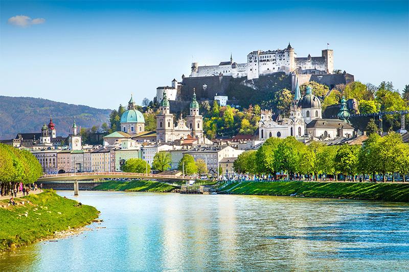 Salzburg ist nur 30 Autominuten entfernt