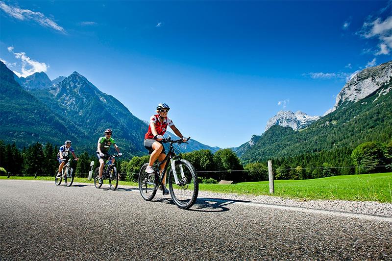 Kostenloser Trekking- und Mountainbike-Verleih im Alpenhof