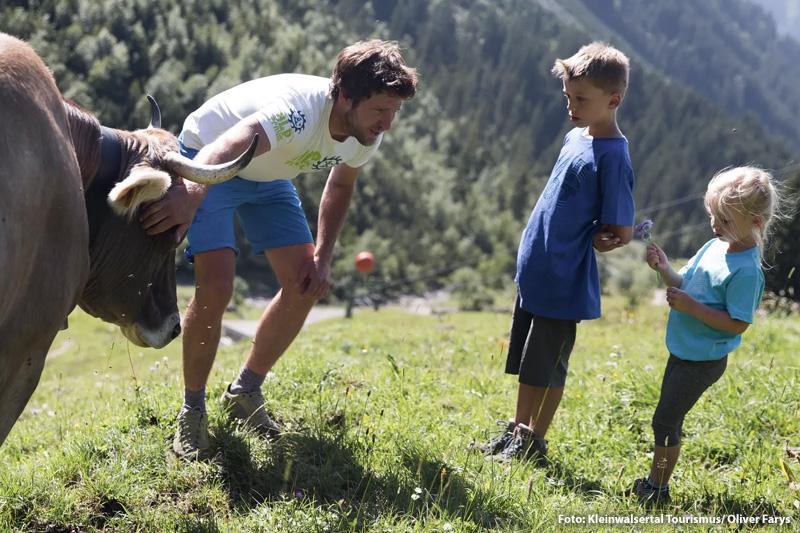 Familienwanderung im Naturpark Wildental