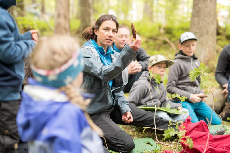 Gemeinsam mit den Naturführer die Natur im Kleinwalsertal entdecken