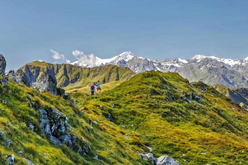 Idealer Ausgangspunkt für Wanderungen, Fahrradtouren oder Mountainbike-Aktivitäten