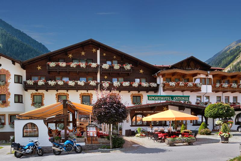 Sommerurlaub im Sporthotel Antonie im Sellraintal