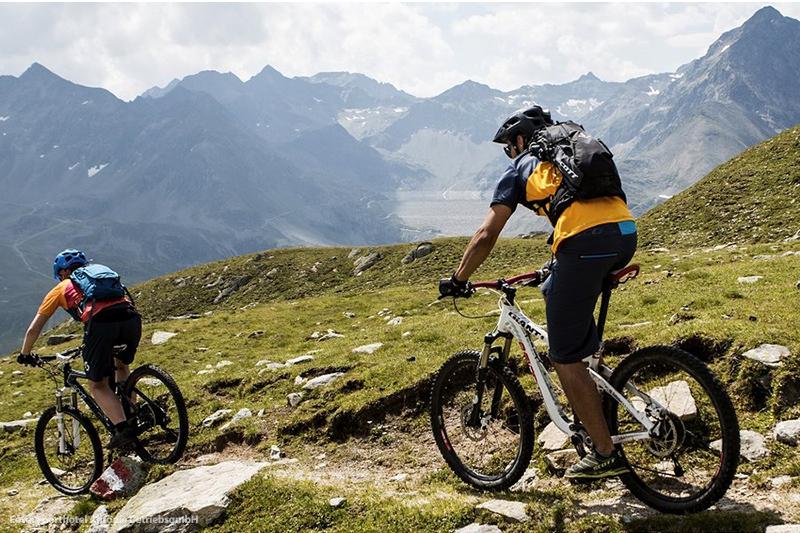 Mountainbiken in der Radfahren in der Ferienregion Innsbruck