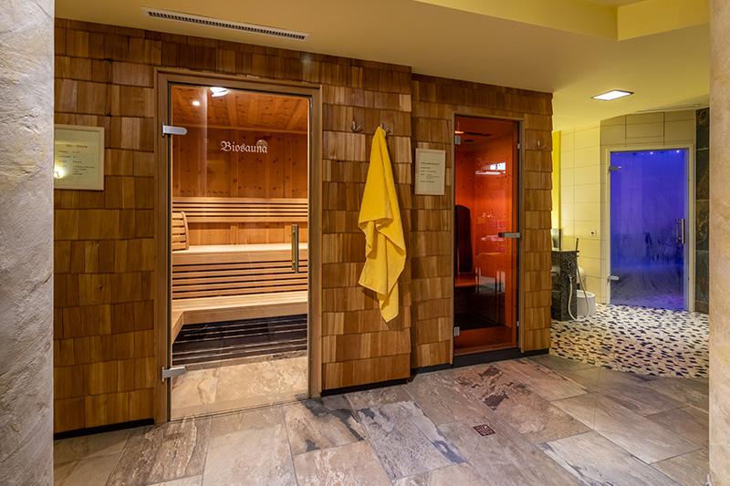 Bio-Sauna und Infrarotkabine