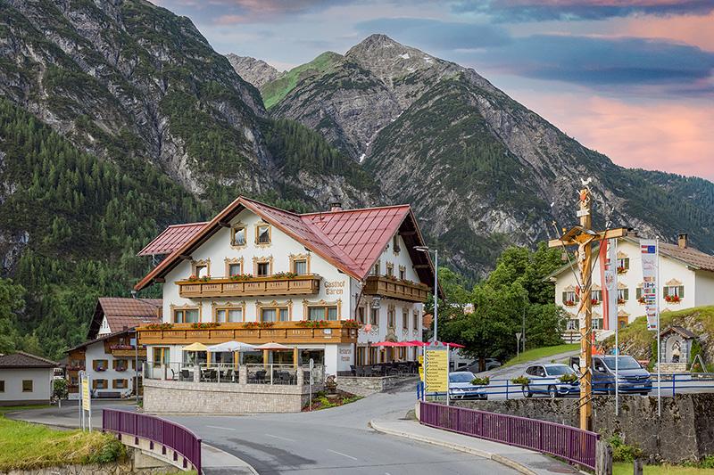 Sommerurlaub im Hotel-Gasthof Bären in Holzgau am Lech