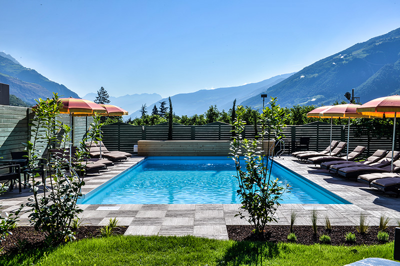 Sommerurlaub im Hotel Bauhof in Kastelbell