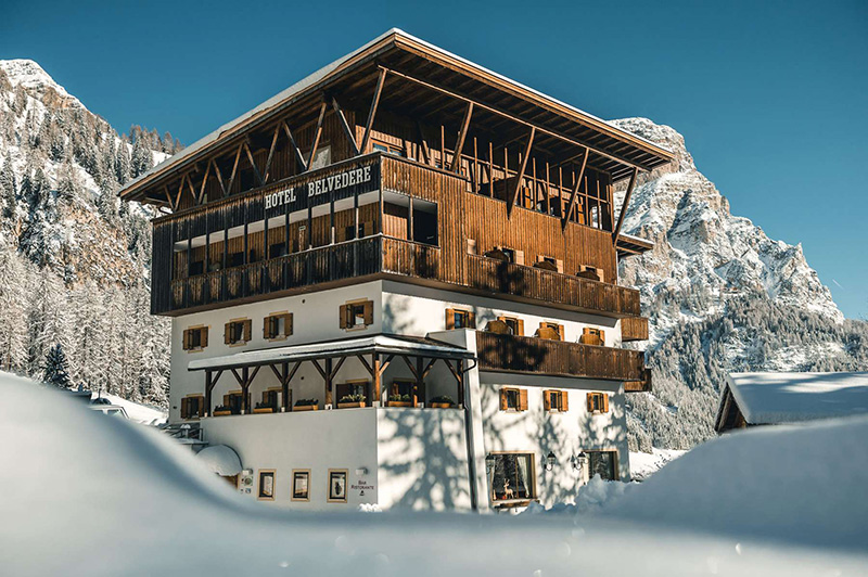 Winterurlaub im Hotel Belvedere