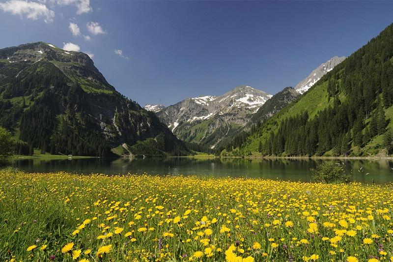Unberührte alpine Natur, ohne stundenlange Aufstiege ...