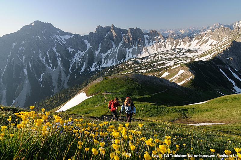 Wanderurlaub im Tannheimer Tal in Tirol
