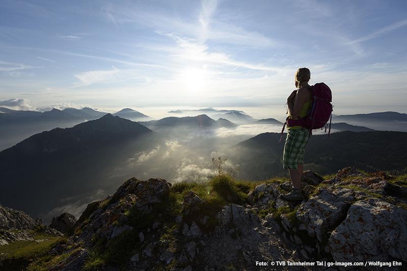 Wandern und Bergsteigen im Tannheimer Tal