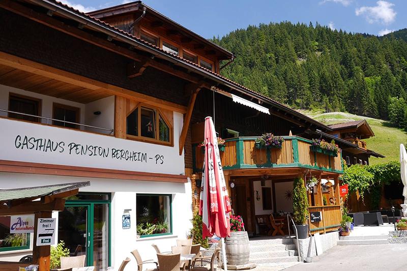 Sommerurlaub in der Pension Bergheim