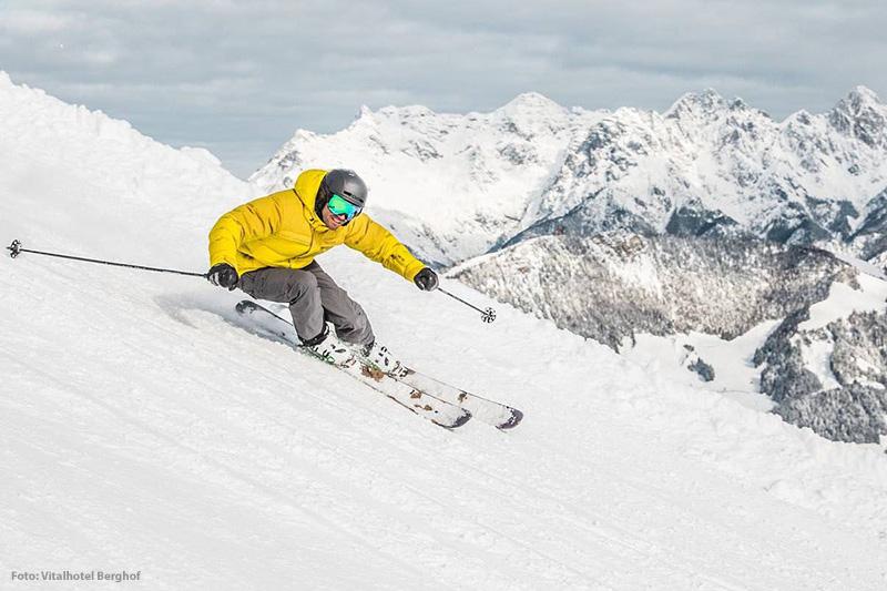 Skifahren in den Kitzbüheler Alpen - Tirol