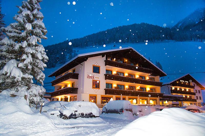 Winterurlaub im Berghotel Tyrol im Schnalstal