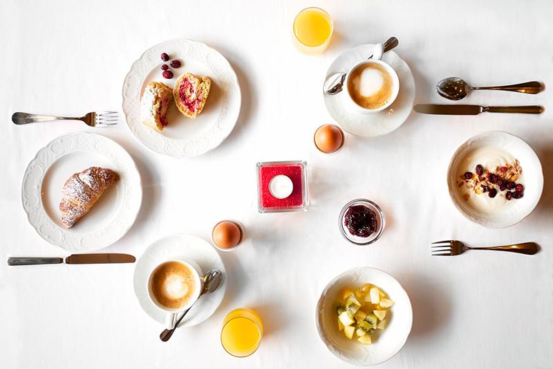 Frühstück im Berghotel Tyrol