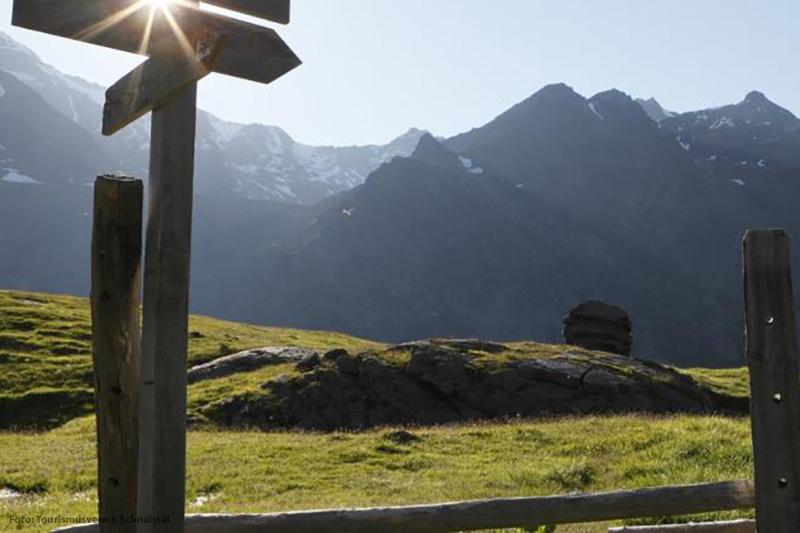 Das Wandergebiet am Schnalstaler Gletscher