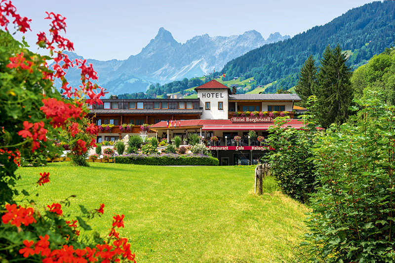 Sommerurlaub im Hotel Bergkristall im Silbertal (Montafon)