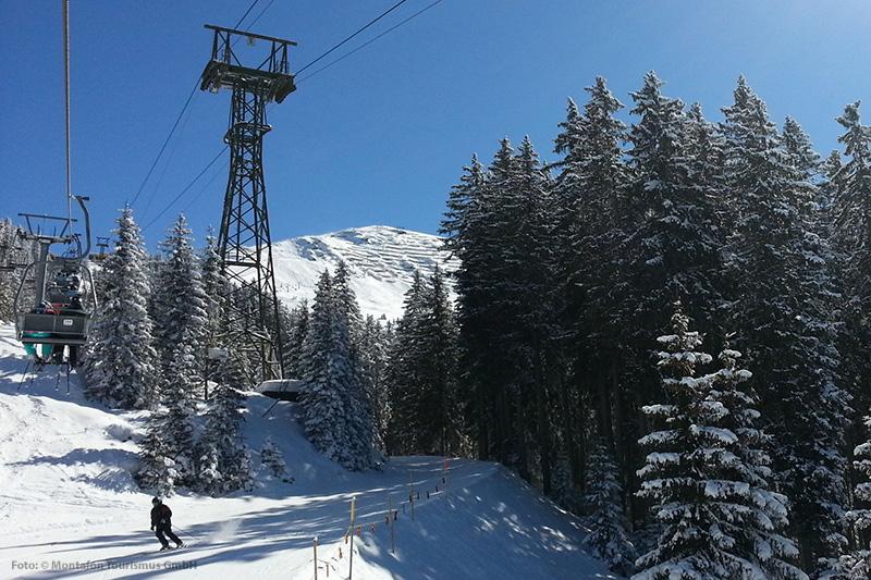 Skigebiete im Montafon