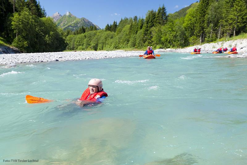 Bade- Schwimm- und Wellnessangebot der Ferienregion Lechtal