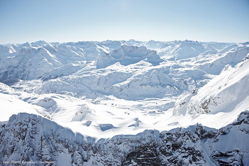 Skigebiet Skigebiet Warth - Schröcken Naturparkregion Lechtal-Reutte in Tirol