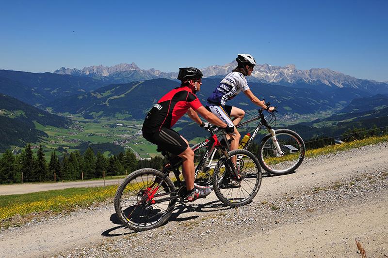 Mountainbiken in Kleinarl