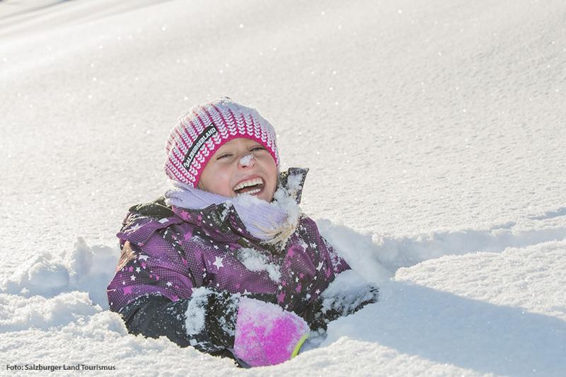 Spielen auf den Schneespielwiesen