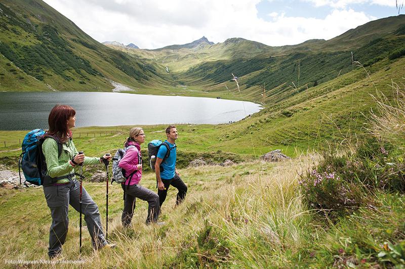 Mit einer kleinen Gruppe macht Wandern besonders viel Spaß
