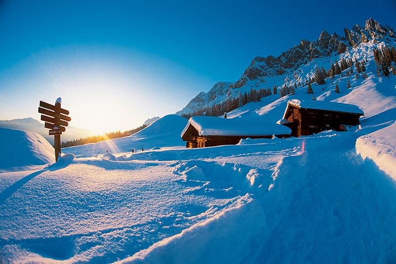 Winterlandschaft im Kleinarl