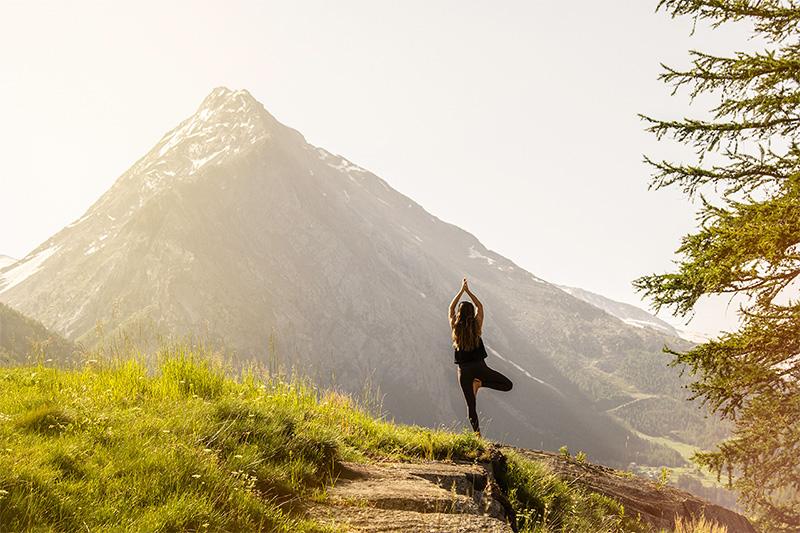 Yoga Urlaub in Saas-Fee