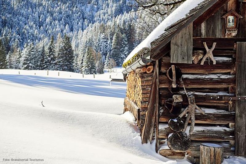 Winterlandschaft Brandnertal