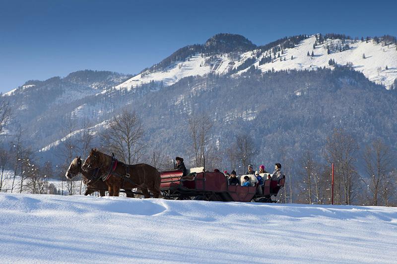 Kutschenfahrt in Walchsee