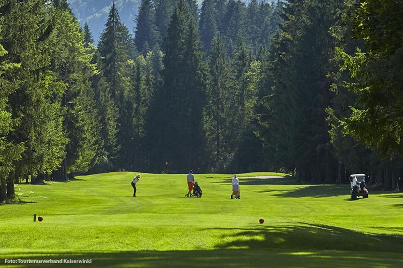Golfurlaub im Kaiserwinkl