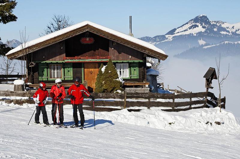 Idyllische Skihütte Tirol