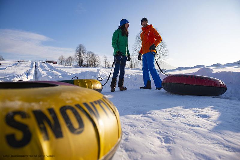 Snowtubing in Kössen im Kaiserwinkl