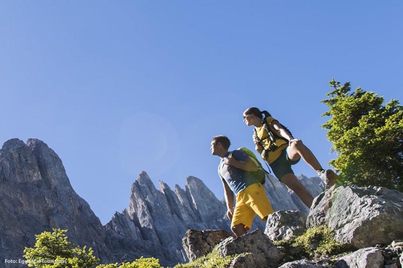 Die Dolomiten Kletter- und Wandergebiet